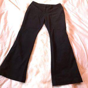 Worthington Modern Fit flare leg dress pants sz 10